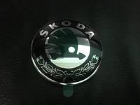 Эмблема Skoda на Шкода Фабия 2000-2008 (79 мм)