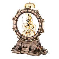 """Часы с боем Veronese стимпанк """"Механизмы"""" 22 см"""