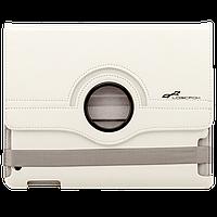 """Чехол с подставкой для iPad модели 2 / 3 / 4 планшета до 9.7"""" кожа pu, белый"""