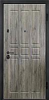 Входные двери металлические, бронированные, с декоративной МДФ накладкой с одной стороны VARTA STANDART VS118