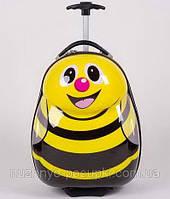 Детский чемодан на колесиках Пчелка