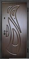 Входные двери металлические, бронированные, с декоративной МДФ накладкой с одной стороны VARTA STANDART VS119