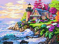 Картина по номерам Домик у маяка КН155