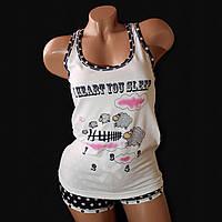 Комплект женский майка и шорты Pink Secret 3642   1 шт.