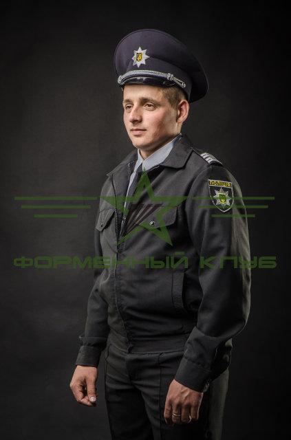 Китель форменный МВС черный для полиции