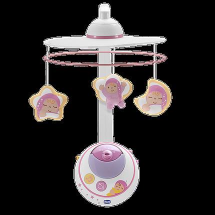 Мобиль-проектор на детскую кроватку Chicco Магия звезд, фото 2