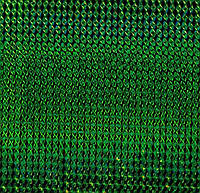 Самоклейка, Hongda, 45 cm Пленка самоклеящая, зеленая, голограмма