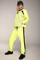 Спортивный костюм с лонсливом