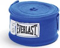 Бинты боксерские Everlast Hand Wraps Blue 3 м