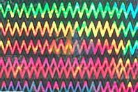 Самоклейка, Hongda, 45 cm Пленка самоклеящая, голограмма разноцветная