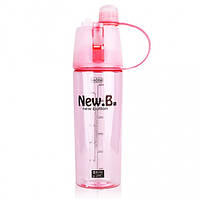 Бутылка для воды.New B. 600мл (Pink)