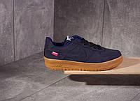 Кроссовки Nike Air Force SUPREME BLUE (СИНИЕ)