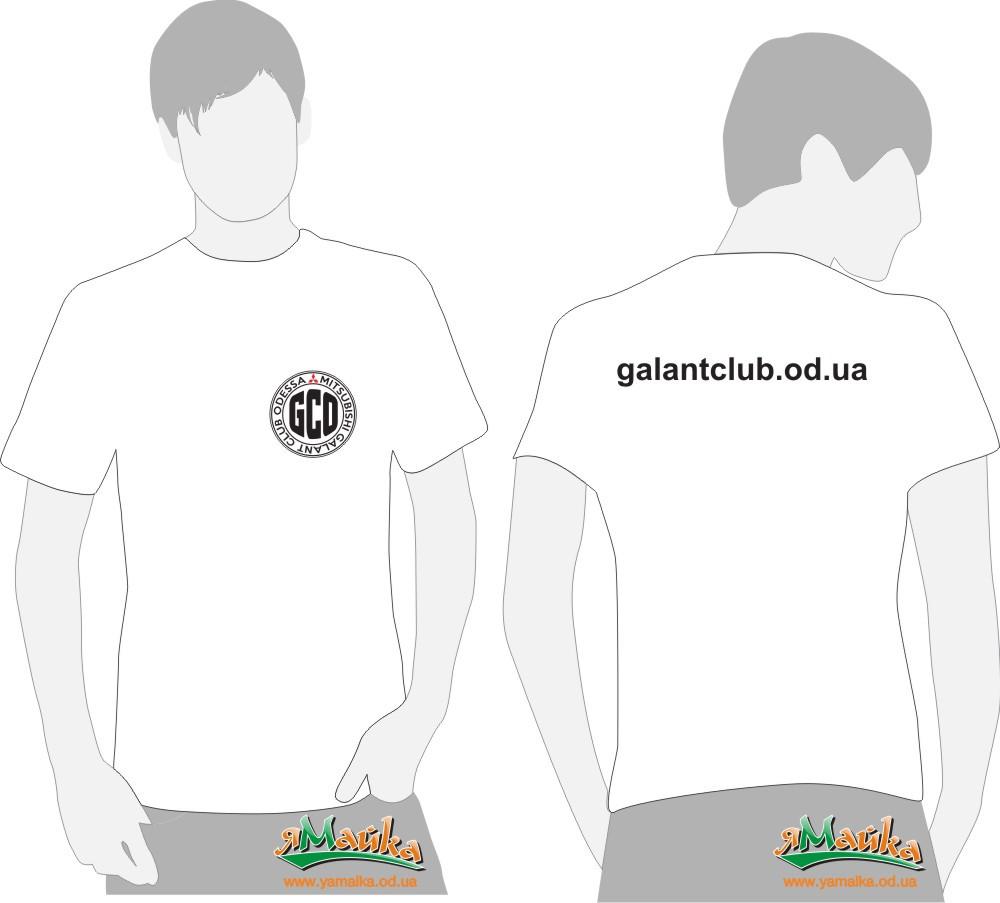 Футболка Galant белая