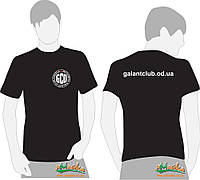 Футболка Galant черная