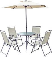 Комплект мебели Венесуэла на 4 персоны с зонтом