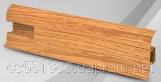 W 003 бурштин - плінтус підлоговий пластиковий Wimar (Вімарі)