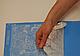 """Коврик для гибкого айсинга """"Роза Мантилья"""" 41 см 28 см, фото 3"""