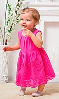 Платье с вышивкой на девочку