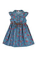 Платье в розочки для девочек