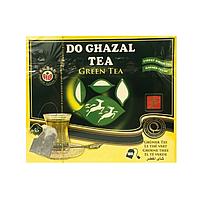 Akbar Do Ghazal Green Tea цейлонский пакетированный зеленый чай, 100шт.