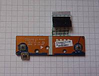 Плата Toshiba L675D / LS-6042P со шлейфом
