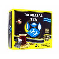 Akbar Do Ghazal Tea EARL GREY цейлонский пакетированный черный чай с бергамотом, 100шт.