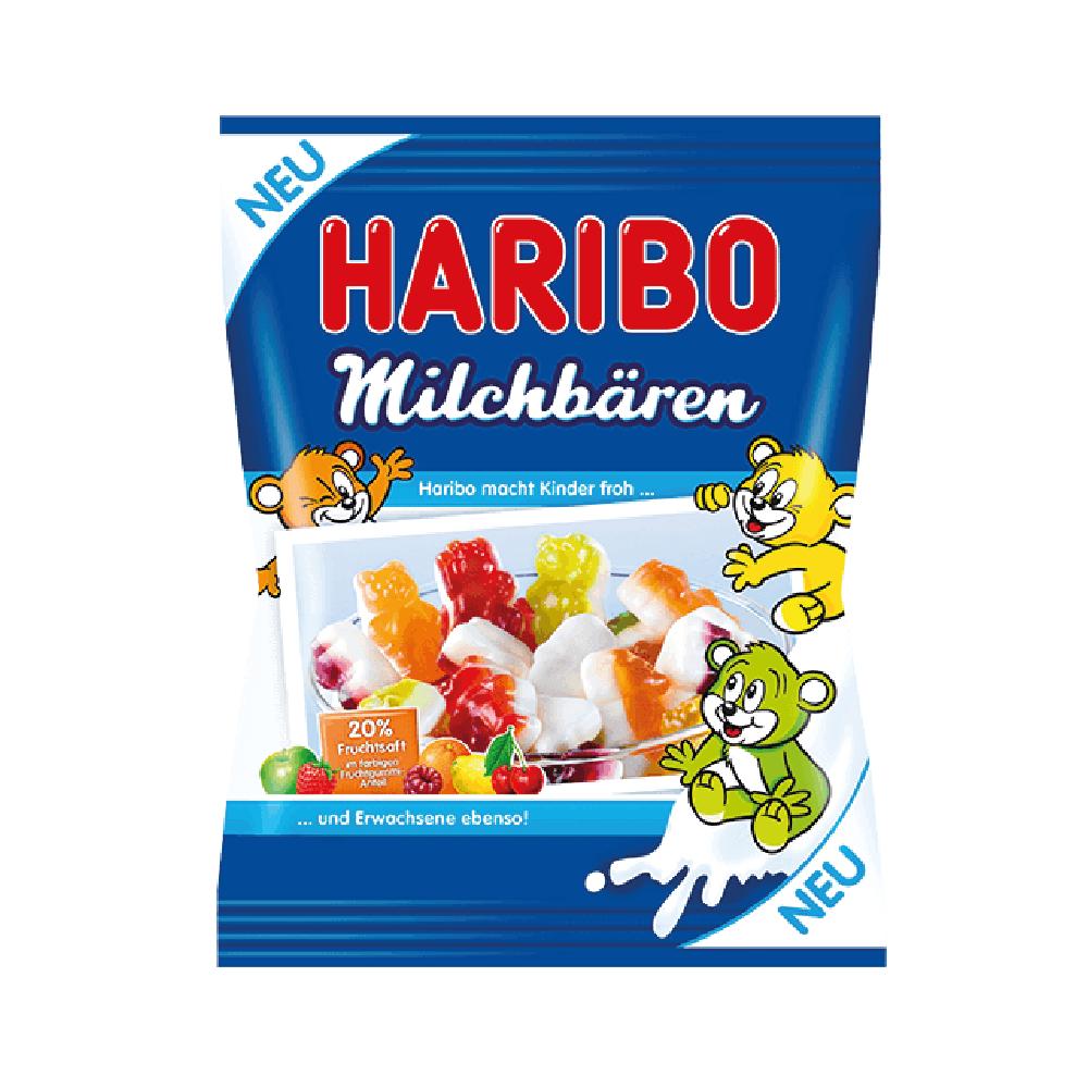 "Жевательный мармелад Haribo ""Молочные Медведи"" (желейки харибо), 200 гр."