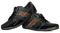 Кросівки чоловічі чорного кольору відмінної якості (БЛ-02чкз)