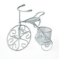 Металлический трёхколёсный велосипед