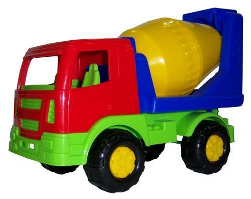 Салют, автомобиль-бетоновоз - Интернет магазин игрушек Toy Welt в Киеве