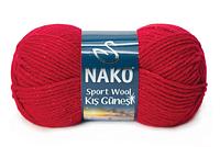 Nako Sportwool Kış Güneşi красный № 3641