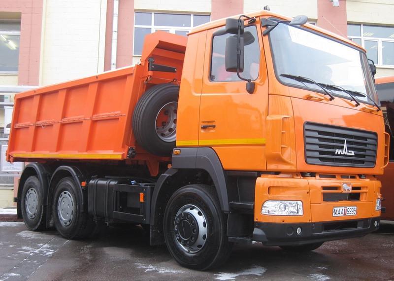 Самоскид МАЗ 6501С5-580-000