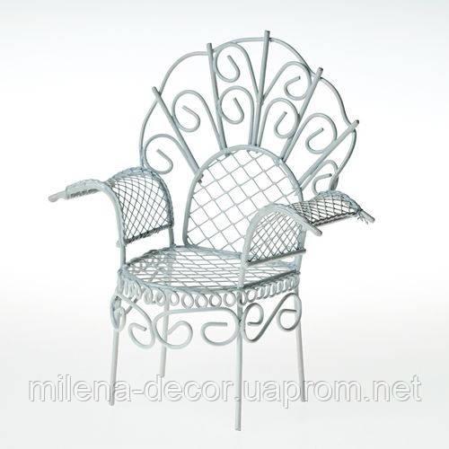 Металлическое мини кресло