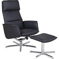 Кресло-реклайнер Sagano PU черный