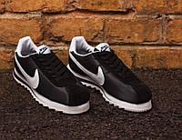 Кроссовки Nike  Classic Cortez Epic (ЧЕРНЫЕ)