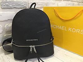 Кожаный рюкзак Michael Kors Lux черный 0400