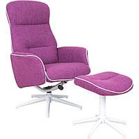 Кресло-реклайнер Belize тк.пурпурный