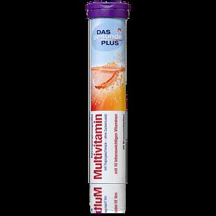 DAS gesunde PLUS Multivitamin шипучі таблетки Мультивітамін, 20 табл.