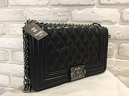Кожаная стильная сумка classic 0429