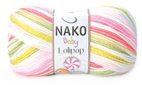 Nako Baby Lolipop (100% АКРИЛ,  230 М) Палитра цветов по ссылке в описании