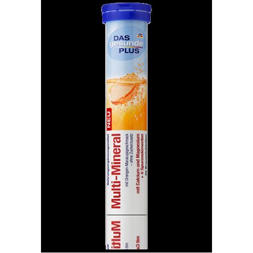 DAS gesunde PLUS Multi-Mineral шипучие таблетки Мульти-Минерал, 20 табл.