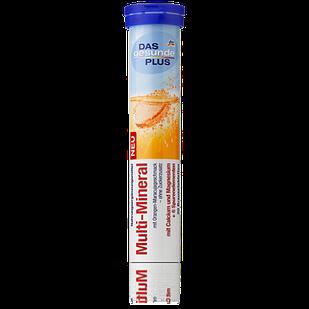 DAS gesunde PLUS Multi-Mineral шипучі таблетки Мульти-Мінерал, 20 табл.