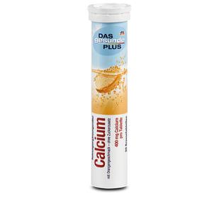DAS gesunde PLUS Calcium шипучі таблетки з Кальцієм, 20 табл.