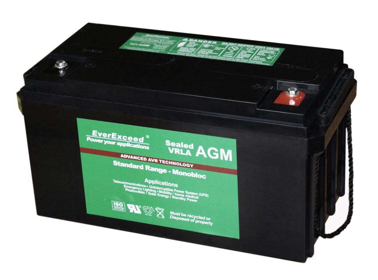 Аккумуляторная батарея EverExceed ST 12-150