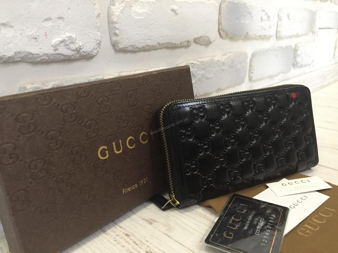 ab5dd6f468fe Кожаный женский кошелек Gucci 0500 - купить по лучшей цене в Украине ...