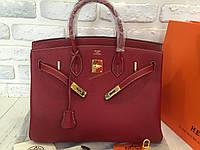 Стильная кожаная женская сумка Hermes 0510