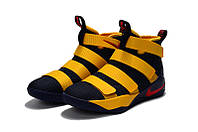 Баскетбольные кроссовки Nike Lebron Soldier 11 blue-yellow