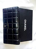 Кошелек женский Chanel черный из натуральной кожи