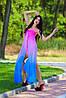 Шифоновое платье лю808