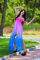 Шифоновое платье лю808, фото 1
